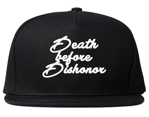 Death Before Dishonor Skulls Snapback Hat By Kings Of NY