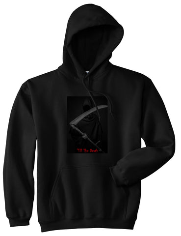 Till The Death Grim Reaper Pullover Hoodie