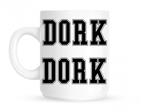 Dork College Style Mug By Kings Of NY