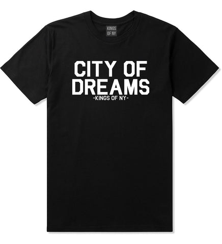 City Of Dreams New York T-Shirt in Black