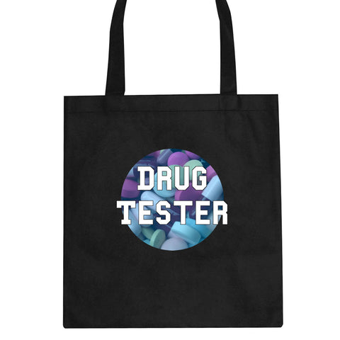 Drug Tester Pop Pills Tote Bag By Kings Of NY