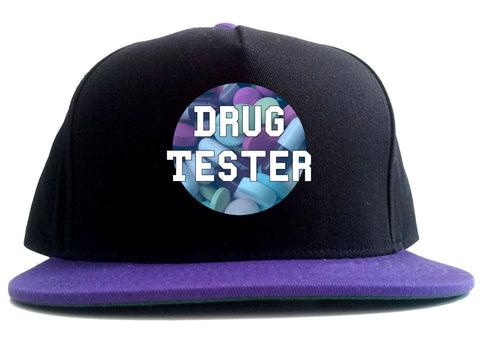 Drug Tester Pop Pills 2 Tone Snapback Hat By Kings Of NY