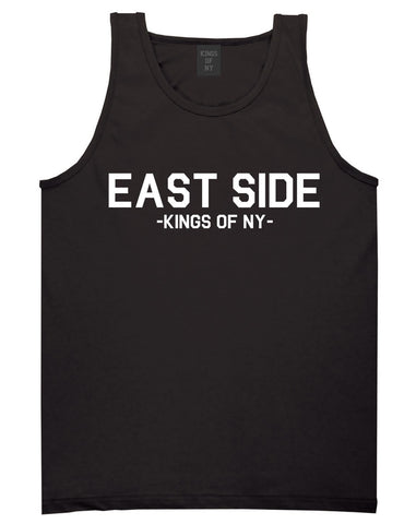 East Side NYC New York Tank Top in Black