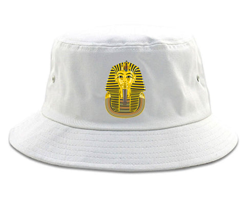 f0538e6733d Pharaoh Egypt Gold Egyptian Head Bucket Hat by Kings Of NY – KINGS OF NY
