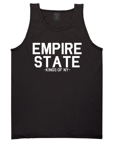 Empire State New York Building Tank Top in Black