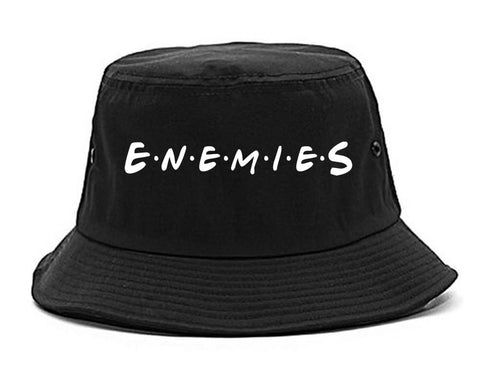 Enemies Friends Parody Bucket Hat By Kings Of NY