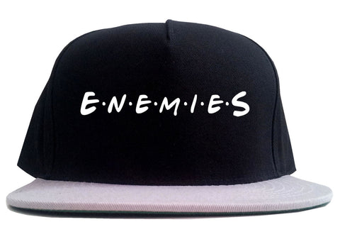Enemies Friends Parody 2 Tone Snapback Hat By Kings Of NY