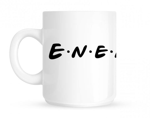 Enemies Friends Parody Mug By Kings Of NY