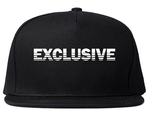 Exclusive Racing Style Snapback Hat in Black by Kings Of NY