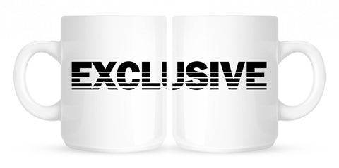 Exclusive Racing Style Coffee Tea Mug in White by Kings Of NY