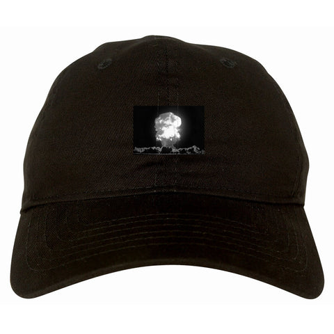 Explosion Nuclear Bomb Cloud Dad Hat By Kings Of NY