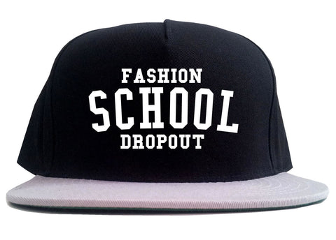 Fashion School Dropout Blogger 2 Tone Snapback Hat By Kings Of NY