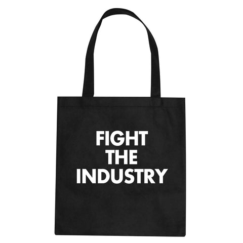 Fight The Industry Power Tote Bag By Kings Of NY
