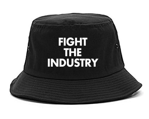 Fight The Industry Power Bucket Hat By Kings Of NY