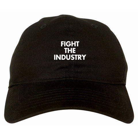 Fight The Industry Power Dad Hat By Kings Of NY