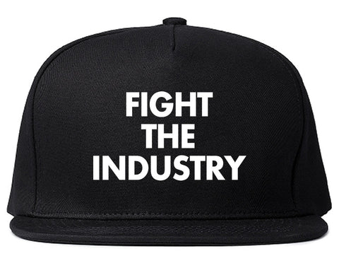 Fight The Industry Power Snapback Hat By Kings Of NY