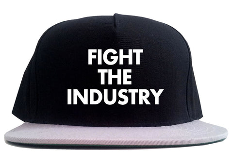 Fight The Industry Power 2 Tone Snapback Hat By Kings Of NY