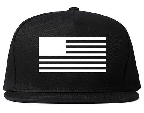 American Flag United States Goth Snapback Hat by Kings Of NY