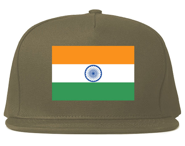 2a081b681ce90e India Flag Country Printed Snapback Hat by Kings Of NY – KINGS OF NY