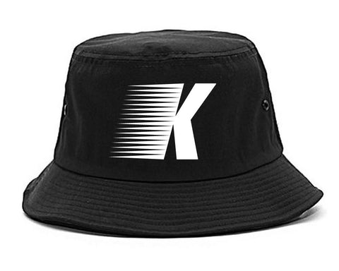Flash K Running Fitness Style Bucket Hat in Black By Kings Of NY