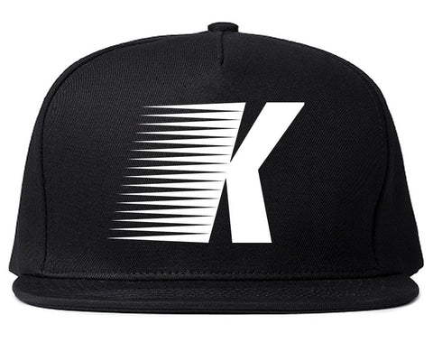Flash K Running Fitness Style Snapback Hat in Black By Kings Of NY