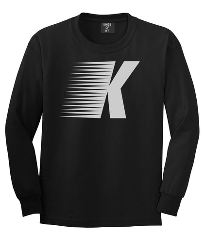 Flash K Running Fitness Style Long Sleeve T-Shirt in Black By Kings Of NY