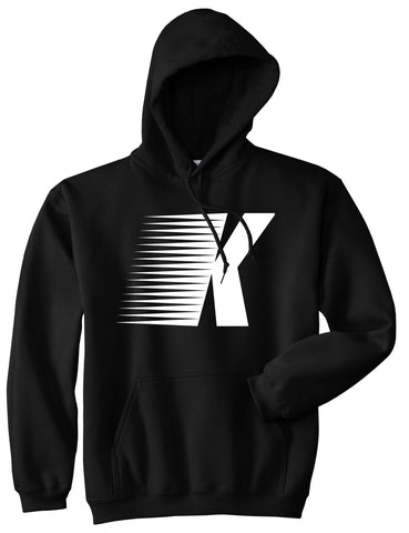 Flash K Running Fitness Style Pullover Hoodie in Black By Kings Of NY