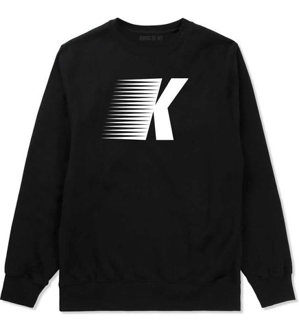 Flash K Running Fitness Style Crewneck Sweatshirt in Black By Kings Of NY