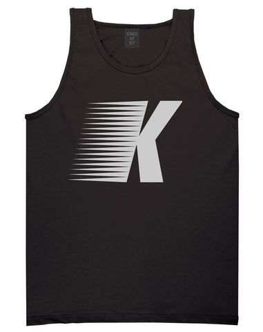 Flash K Running Fitness Style Tank Top in Black By Kings Of NY