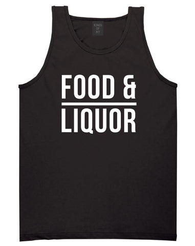 Food And Liquor Tank Top in Black By Kings Of NY