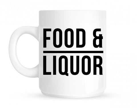Food And Liquor Mug By Kings Of NY