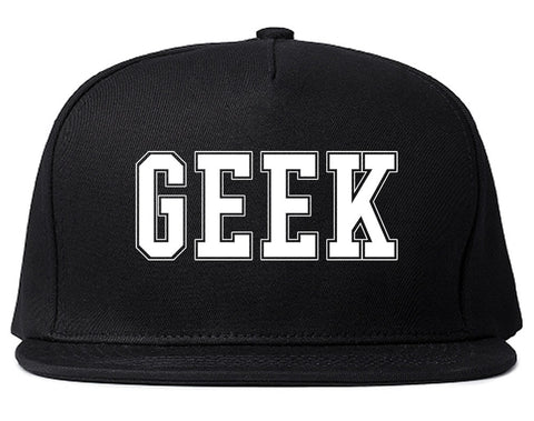 Geek College Style Snapback Hat By Kings Of NY