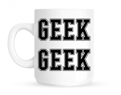 Geek College Style Mug By Kings Of NY