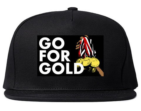 Go For Gold Medals Olympics Snapback Hat