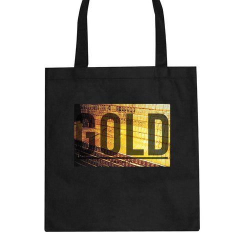 Gold Bricks Money Luxury Bank Cash Tote Bag By Kings Of NY