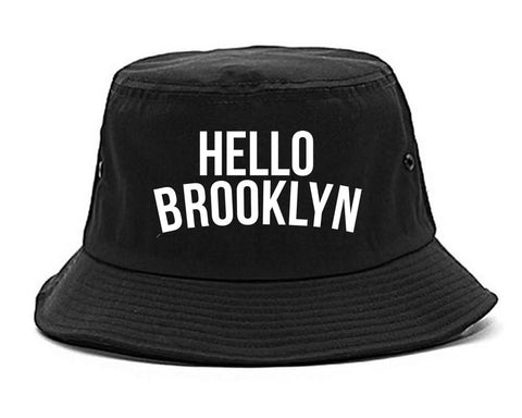 Hello Brooklyn Bucket Hat By Kings Of NY