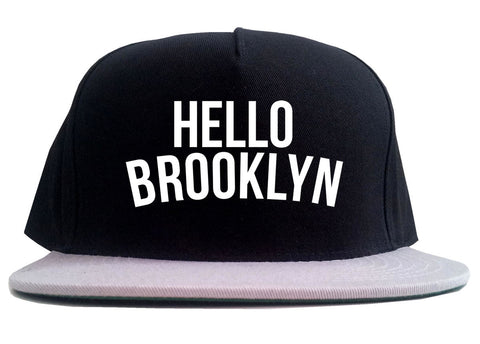 Hello Brooklyn 2 Tone Snapback Hat By Kings Of NY