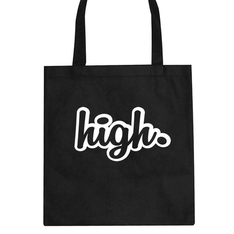 High Outline Weed Tote Bag By Kings Of NY