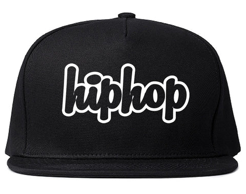 Hiphop Outline Old School Snapback Hat By Kings Of NY