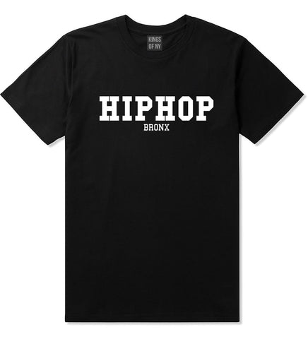 Hiphop the Bronx T-Shirt in Black by Kings Of NY