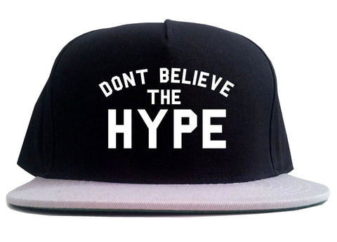 Don't Believe The Hype 2 Tone Snapback Hat By Kings Of NY