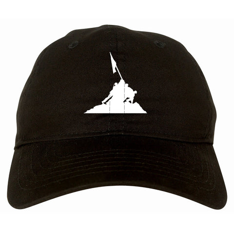 Iwojima Flag Dad Hat Cap By Kings Of NY