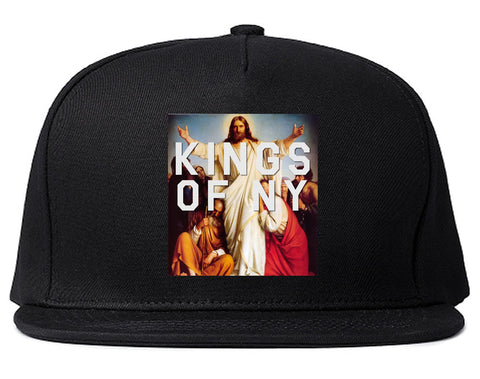 Jesus Worship and Praise of Power Snapback Hat in Black By Kings Of NY