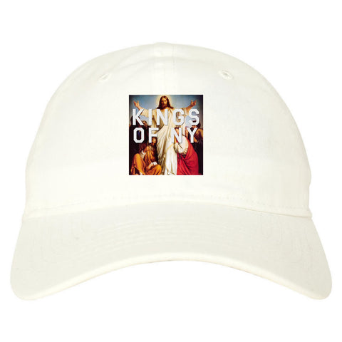 6e3655e3ebdea Jesus Worship and Praise of Power Dad Hat by Kings Of NY – KINGS OF NY