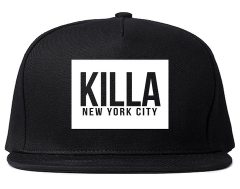 Killa New York City Harlem Snapback Hat in Black by Kings Of NY