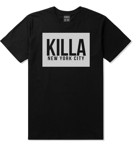 Killa New York City Harlem T-Shirt in Black by Kings Of NY