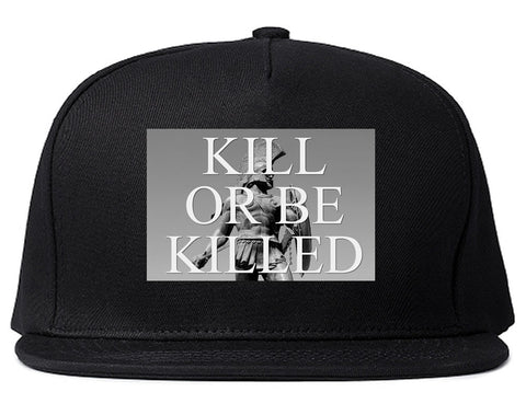 Kill Or Be Killed Snapback Hat in Black by Kings Of NY