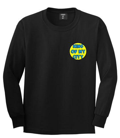 King Of My City Logo Long Sleeve T-Shirt in Black