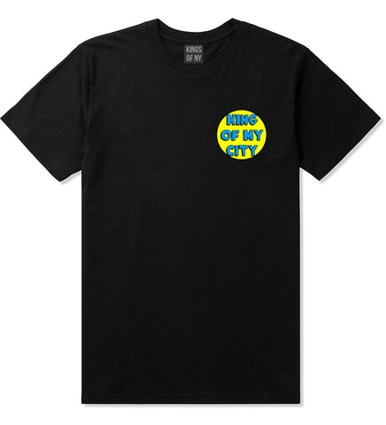 King Of My City Logo T-Shirt in Black