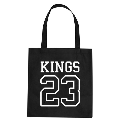 KINGS 23 Jersey Tote Bag By Kings Of NY